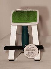 Dog Slicker Brush and De-Mat for Medium to Long Coats