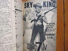 Aug-1958 TV Guide(SKY  KING/KIRBY  GRANT/JUDI MEREDITH/JAYNE MEADOWS/TOMMY NOLAN
