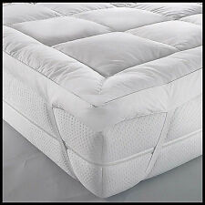 Duck Feather And Down Mattress Topper/Protector White/Premium Quality/Low Price