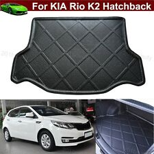 Car Boot Cargo Mat Trunk Liner Tray Floor Mat For KIA Rio K2 Hatchback 2011-2018