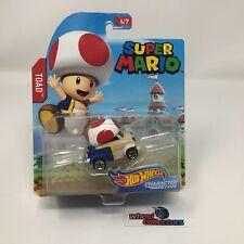 Toad * Super Mario * Hot Wheels Character Cars * NA16