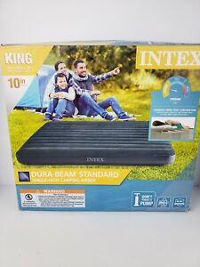 """Intex King Standard Air Mattress 10"""" 66168WL/76""""×80""""×10""""/600# Max.Wt. NIB"""