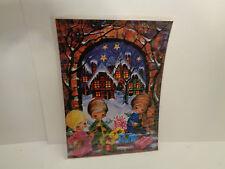 Vintage  Adventskalender J.+H. Adam Engel musizieren  Nr.206 Printed in Germany
