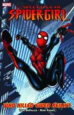 Spectacular Spider-Girl: Who Killed Gwen Reilly? by DeFalco & Frenz 2010 Tpb Oop