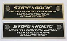 Stipe Miocic UFC nameplate for signed mma gloves photo or case