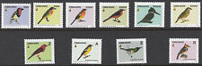 ZIMBABWE : 2005 Birds in Zimbabwe series 1  set SG1146-55 NMH