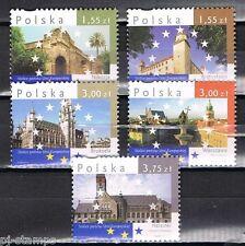 2009 Polen 4450-4454 Hoofdsteden lidstaten EU