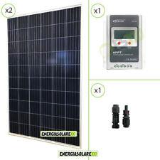 Kit Starter Pannello Solare Fotovoltaico 540W 12V Regolatore di carica 40A MPPT