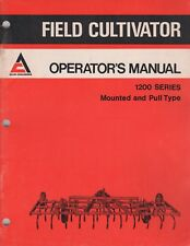 1976 ALLIS-CHALMERS FIELD CULTIVATOR 1200 SERIES OPERATOR'S MANUAL 587256 (740)