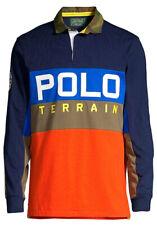 Polo Ralph Lauren Terrain Sportsman Rugby Shirt Long Sleeve Men's Large $148