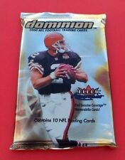2000 Fleer Skybox Dominion Football HOBBY Pack (Tom Brady Urlacher Rookie RC)?