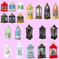 Lantern Candlestick Candle Holder Tea Light Christmas Xmas Party Home LED Decor