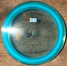 Domey Pop-Top Blue Champion Boss 174 g Innova Disc Golf Penned 8.5/10