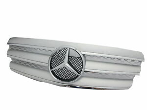 W211 2002-2006 Pre-Facelif GRILLE/GRILL 3FIN CHROME/SILVER for Mercedes-Benz