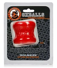 Oxballs Squeeze Ball stretcher Red Scrotum Ball Flex TPR Ring Bigger Bulge