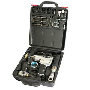 Husky Air Tool Kit 27-Piece Aluminum Bolting Included Case