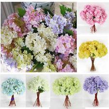 Seidenblumen Hortensien Kunst Blumenstrauß Floristik Haus Deko Blumen Hochzeit