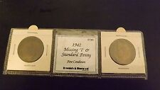 PENNY SET 1942 I NORMAL AND NO MINTMARK