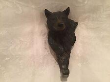 Bear Head Resin Coat Hook