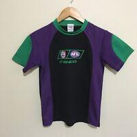 Fremantle Dockers Vintage Logo Freo AFL T-Shirt Shirt Youth Boys 10
