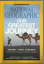 National Geographic December 2013 One Man 7 Years 21,000 Miles/Cougars