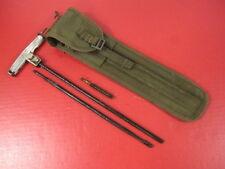 Vietnam US M1 Carbine Canvas Cleaning Kit Complete w/Carry Case - Xlnt Condition