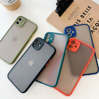 Frosted Non-slip Anti-collision Phone Case Cover For iPhone 11 Pro XR XS Max 8 7