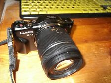 Panasonic LUMIX DMC-GF3K 12.1MP Digital Camera - Black (Kit w/ ASPH 14-42mm...