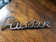 Classic Austin mini / cooper / s Script Badge J Fray. Original BMC not Morris.