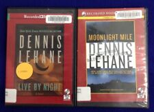 Dennis Lehane~MP3 CD Audiobooks Unabridged~Lot 2~Moonlight Mile & Live By Night