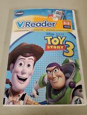 Vtech - V.Reader Software - Toy Story 3 Nib kids reading activity game