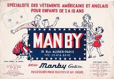 W90 BUVARD MANBY lRayon Couture Exclusivités pour fillettes et Gdes Filles