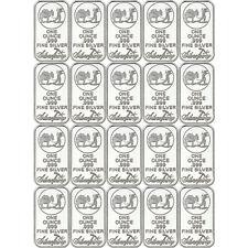 SilverTowne Logo 1oz .999 Fine Silver Bar 20 Piece Lot
