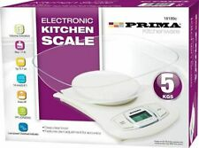 KITCHEN SCALE 5KG ELECTRONIC DIGITAL LCD WEIGHING KITCHEN CATERING SCALE NEW