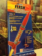 "ESTES ""FLASH"" MODEL ROCKET LAUNCH SET E2X Easy To Assemble"