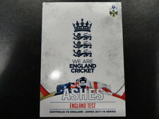 2017 TAP N PLAY ASHES CRICKET CARD NO.022 ENGLAND TEST CHECKLIST