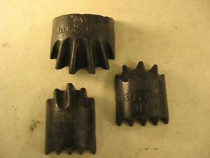 3 CAST IRON FORMING TOOLS PATENTED JAN 25 1898 SHEET METAL  ? WHAT IS IT ?