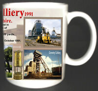 COVENTRY COLLIERY COAL MINE MUG. LIMITED EDITION GIFT MINERS WARWICKSHIRE PIT