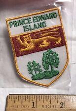 NIP PRINCE EDWARD ISLAND Canada PEI Crest Coat of Arms Souvenir Patch