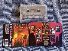WASP - Live...in the raw - K7 audio / TAPE