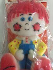 Vintage NOS 1983 Binky Lil' Farmers Squeak Toy Raggedy Ann Style Doll 80s Baby