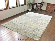 Ballard Marina Grey 8' x 10' Persian Style Handmade Tufted Woolen Rugs & Carpet