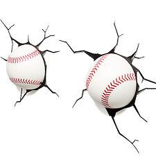 3D FX Deco LED Luce di notte Lampada Baseball sportivo NYY MLB  LosAngelesDo