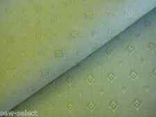1.4 mts thick strong green woven upholstery fabric 136cm w curtain craft cloth