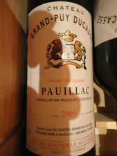 2005 Chateau Grand-Puy Ducasse, Pauillac, France Wine 750ml
