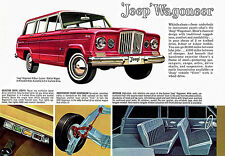 1962 Jeep Wagoneer - Promotional Advertising Poster