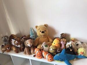 job lot soft toy teddy bundle