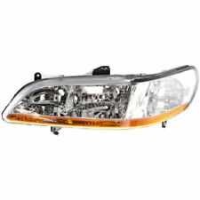 For Accord 01-02, Driver Side Headlight, Clear Lens