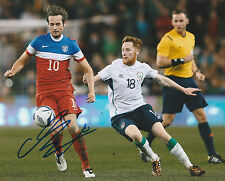 MIX DISKERUD SIGNED AUTO'D 8X10 PHOTO POSTER USA SOCCER USMNT NEW YORK CITY FC B