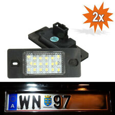 2x LED Licence Number Plate Light No Error VW Passat B5.5 Volkswagen Golf V 5D